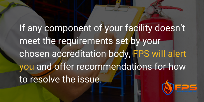 Medical Facility's Accreditation Fire Inspection - 3